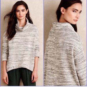 Saturday Sunday Cowl Neck Space Dye Pullover